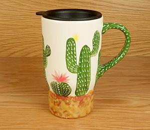 Ridgewood Cactus Travel Mug
