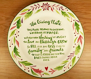 Ridgewood The Giving Plate
