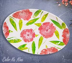 Ridgewood Floral Paper Stamping