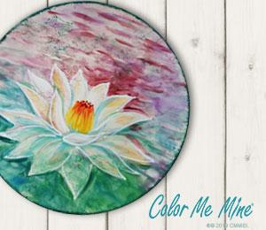 Ridgewood Lotus Flower Plate