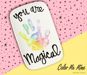 Ridgewood Rainbow Hand-print