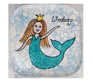 Ridgewood Mermaid Plate