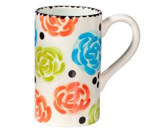 Ridgewood Simple Floral Mug
