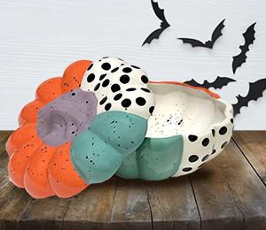 Ridgewood Color Block Pumpkin