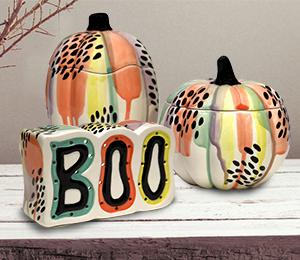 Ridgewood Drippy Pumpkin Box